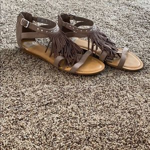 Boho sandals made by Fergie!